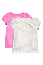 2-pack jersey tops - Cerise - Kids | H&M 2